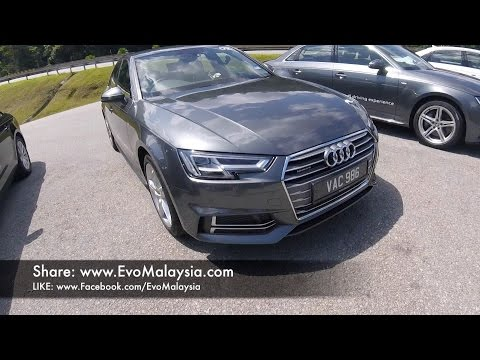 Evo Malaysia com | 2017 Audi A4 2 0 Quattro Full In Depth Review by Bobby Ang