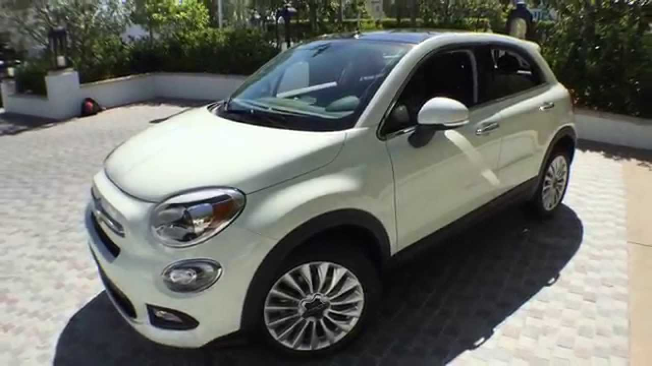 best detailed walkaround 2016 fiat 500x lounge awd youtube. Black Bedroom Furniture Sets. Home Design Ideas