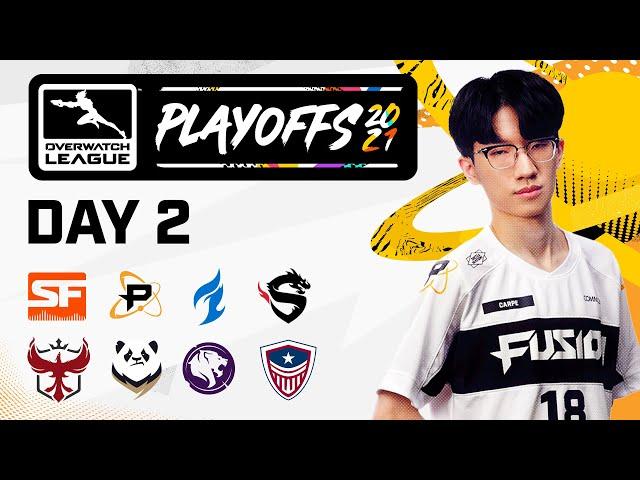 Overwatch League 2021 Season | Playoffs | Day 2