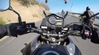 KTM Duke 390 & Suzuki DL1000 V-Strom Cornering