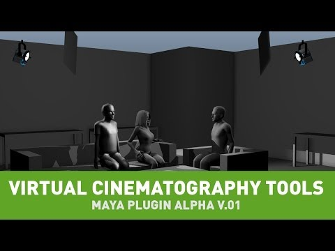 Virtual Cinematography Tools - Maya Plug-In Alpha v.01