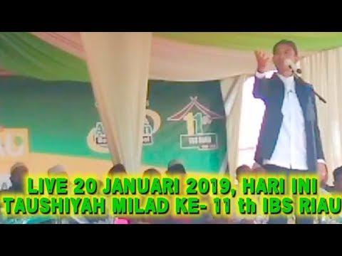 LIVE UAS HARI INI 20 JANUARI 2019! Ceramah Ustadz Abdul Somad di Al-Ihsan Boarding School IBS RIAU