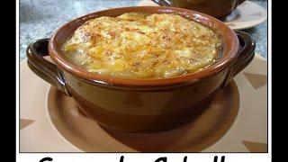Sopa de Cebolla receta original