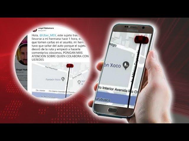 Joven narra intento de secuestro en Uber,se arrojó del vehículo