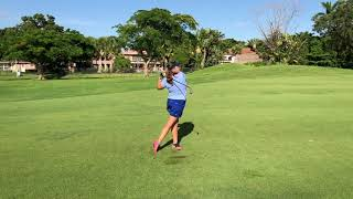 Madyson Gold Golf Swing Recruiting Video