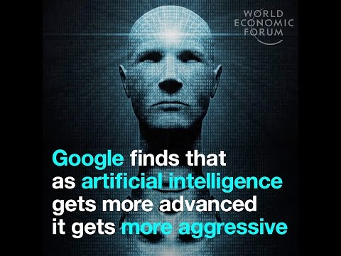 Google finds that as artificial intelligence gets more advanced it gets more aggressive
