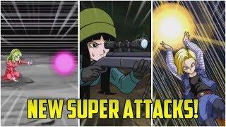 *NEW* WAIFU CARD SUPER ATTACKS! | Dokkan Battle Leaks!
