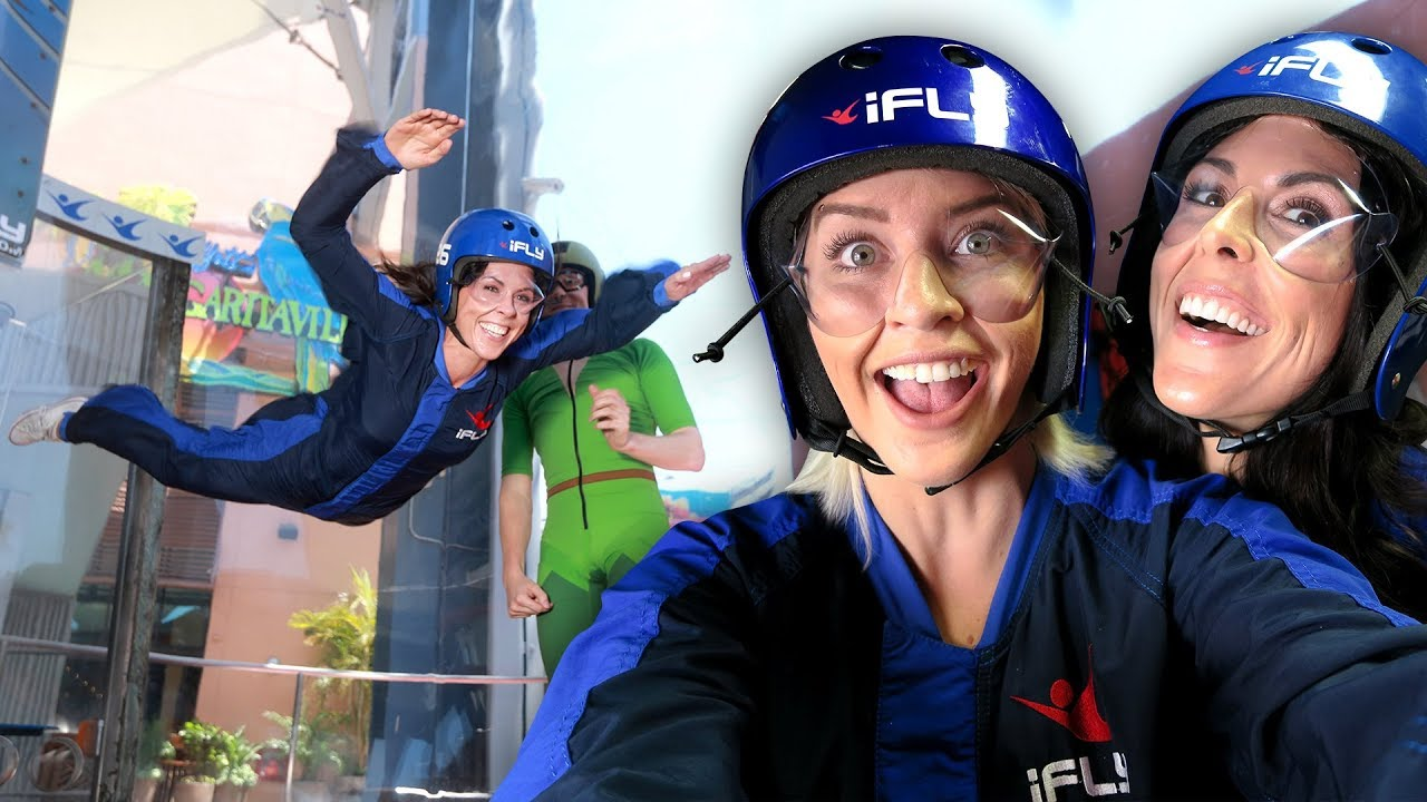 Indoor Skydiving With PETER PAN?! *Not Clickbait*