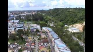 The view of Miri, Borneo.