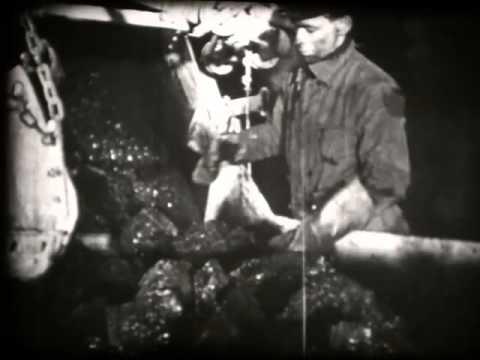 Travail Dans Les Mines En Allemagne  1936