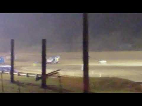 9C Chandi Currence Heat Race Elkins Raceway 9/24/19. - dirt track racing video image