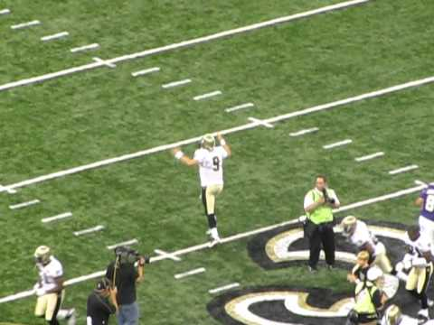 Drew Brees Who Dat chant
