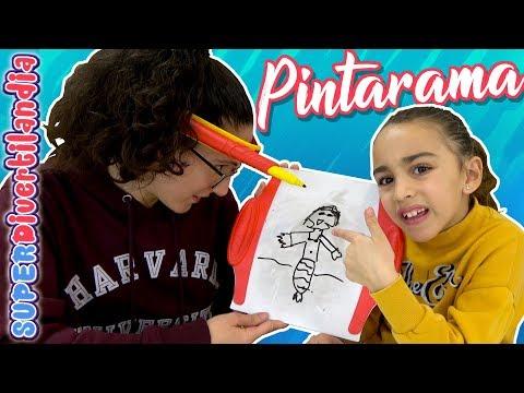 RETO Dibujando MAL! con Pintarama de Goliath! SUPERDivertilandia.