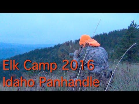 Elk Camp 2016 - Public Land/DIY Elk Hunt In Northern Idaho