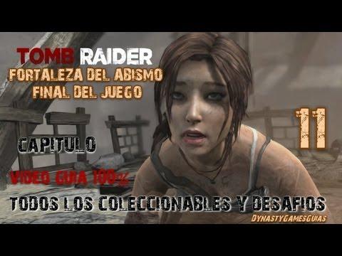 Tomb Raider 2013 Capitulo 11 Fortaleza del Abismo-Final del juego 100% Coleccionables/Desafíos