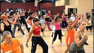Zumba dance and fitness music promo video for mobile phones has more than 3 million total views