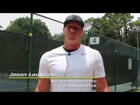 USTA Florida Go Pro Tennis Tip: The Split Step When ...
