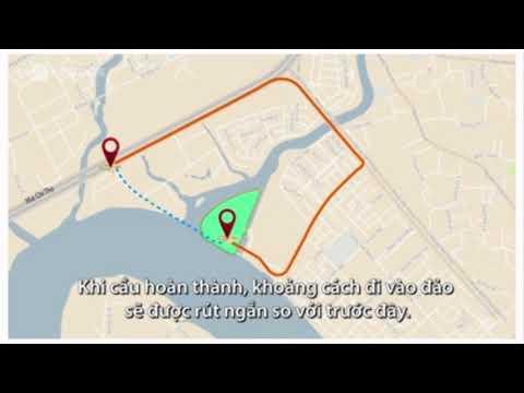 Xây cầu 500 tỷ qua đảo kim cương và dự án Saigon Mystery Quận 2  PKD:  0909082492