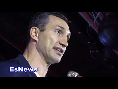 klitschko honored by bwaa EsNews Boxing