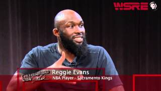WSRE | Conversations with Jeff Weeks | Reggie Evans