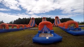 5k Foam Fest Nanaimo, Canada [TEAM GREEN] (all obstacles)