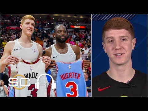 Dwyane Wade jersey exchange a special moment for Hawks guard Kevin Huerter | SC with SVP