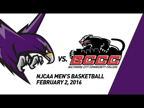 Montgomery College Raptors Men's Basketball vs. Baltimore City Panthers, 2/2/2016