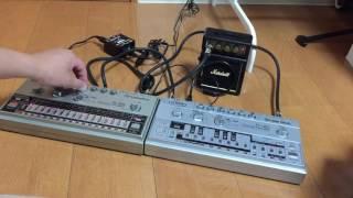 TT303 + TR606 synchro play