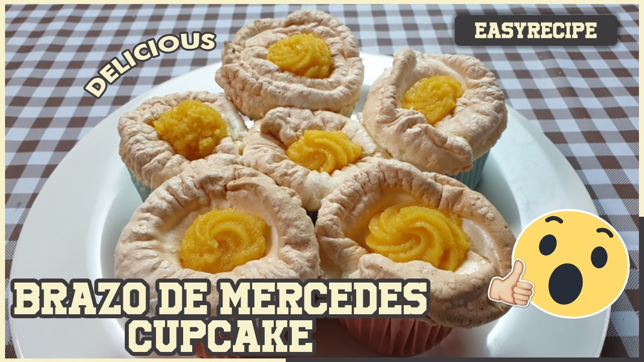 [EASY RECIPES]HOW TO MAKE THE BEST BRAZO DE MERCEDES CUPCAKE