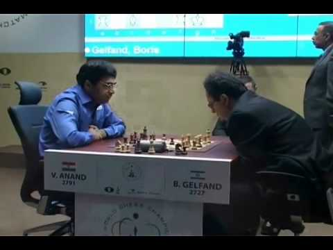 Exclusive video of Viswanathan Anand winning the World Chess Championship 2012