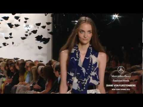 DIANE VON FURSTENBERG FULL COLLECTION - MERCEDES-BENZ FASHION WEEK SPRING 2013 COLLECTIONS