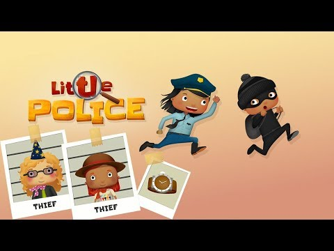 LITTLE POLICE - Police Catch The Thief Gameplay Part 1