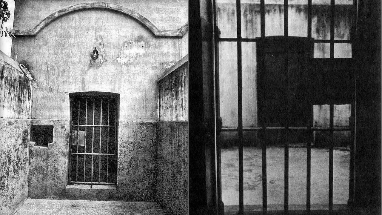 Aurobindo Ghose was incarcerated in this jail, from where he evolved into Sri Aurobindo