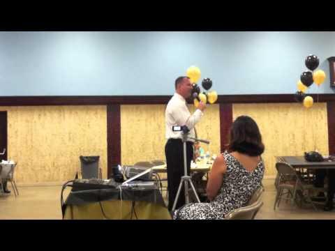 """Formula for Success"" Tim Livingston's Inspirational Speech at Trinity School in Tampa, FL"