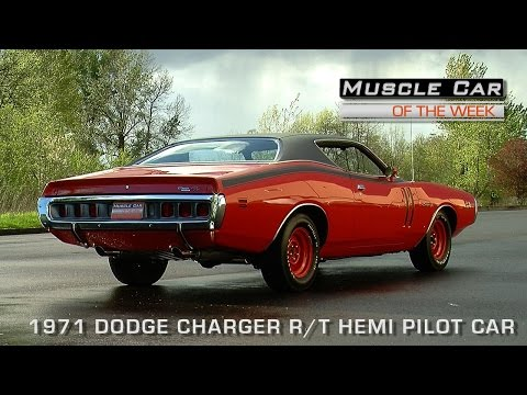 Muscle Car of the Week Video Episode # 111: 1971 Dodge Charger R/T 426 Hemi Pilot Car