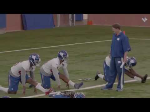 All Access: Coach McAdoo at practice