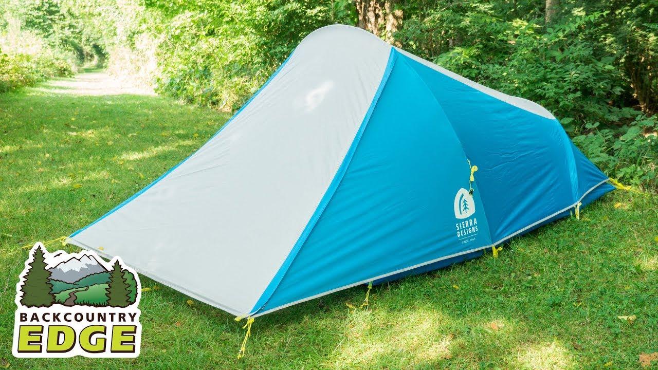 Sierra Designs Clip Flashlight 2 3-Season Backpacking Tent & Sierra Designs Clip Flashlight 2 3-Season Backpacking Tent - YouTube