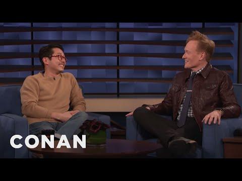 Steven Yeun Thinks Conan Should Hop On The K-Beauty Trend
