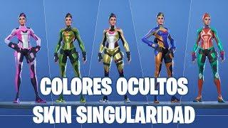 Fortnite Battle Royale ? Skin Singularity: Colors Arrumaco, Rex, Deriva, Durr and Pizza