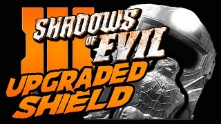 How to UPGRADE THE ROCKET SHIELD Shadows of Evil - Black Ops 3 Zombies
