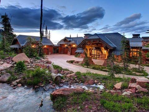 Breathtaking Modern Mountain Estate In Park City Utah