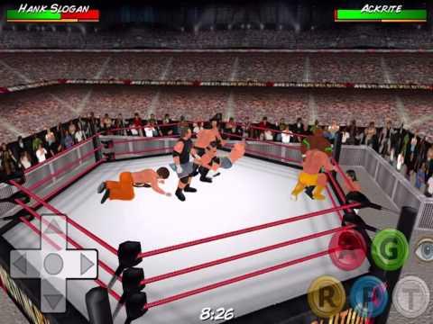 10 man tna royal rumble wrestling revolution 3d youtube