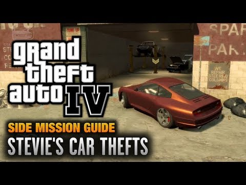 GTA 4 - Stevie's Car Thefts [You Got The Message Achievement / Trophy] (1080p)