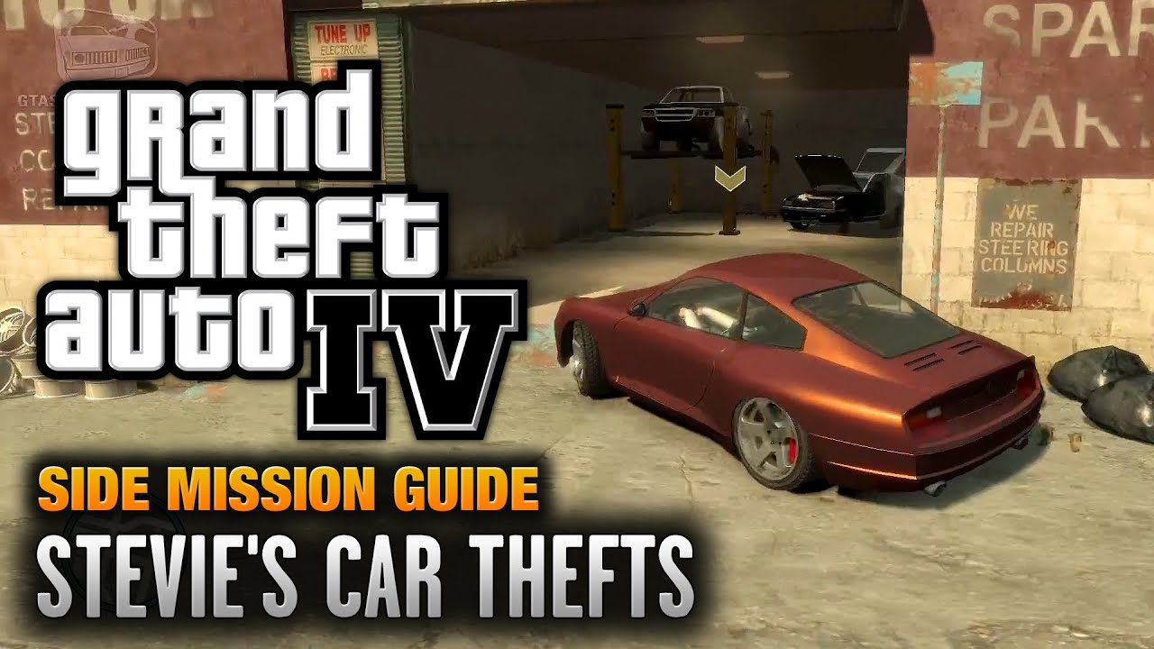 Gta  Stevies Car Thefts You Got The Message Achievement Trophy P Youtube