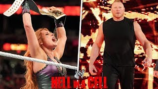 WWE HELL IN A CELL 2018 | REVIEW