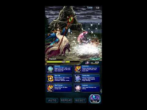 FFBE: Ramuh r3 Budget Clear, All Missions