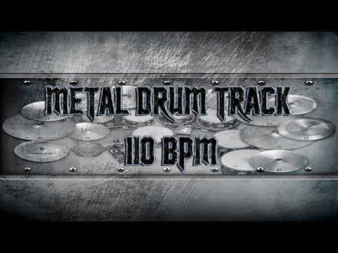 Metal Drum Track 110 BPM | Remix (HQ,HD)