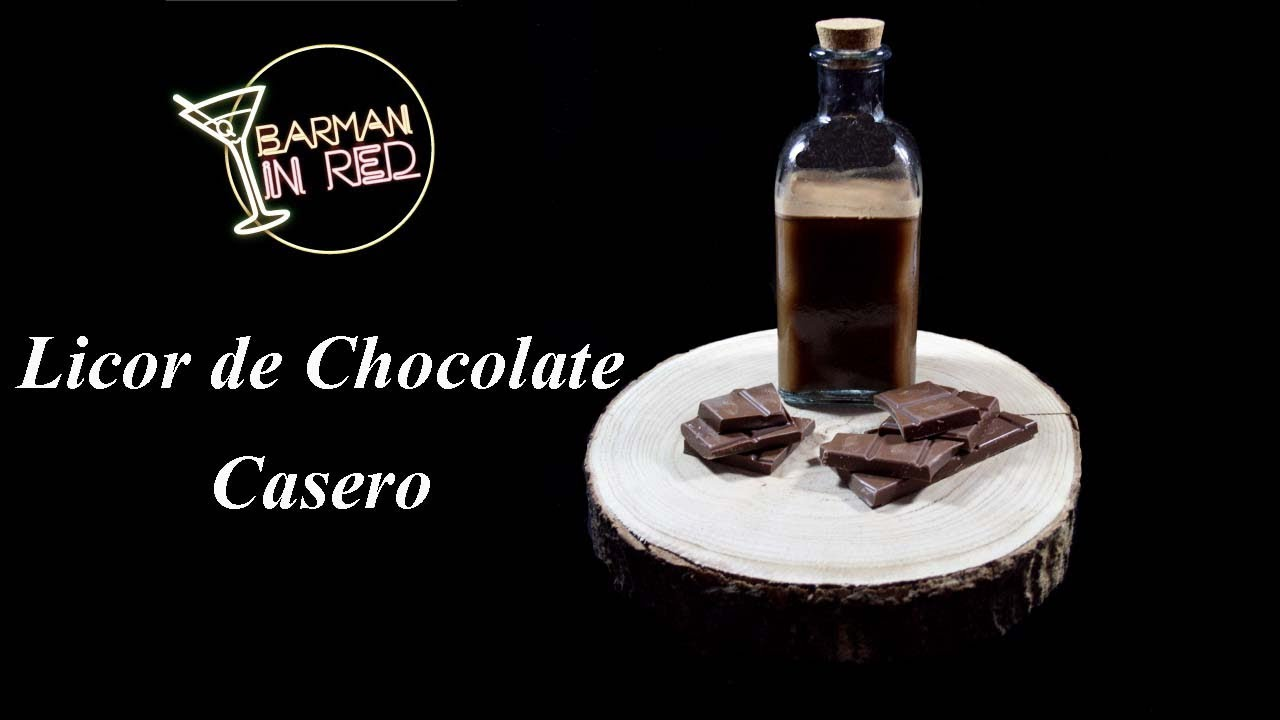 How to make a homemade chocolate liqueur - YouTube
