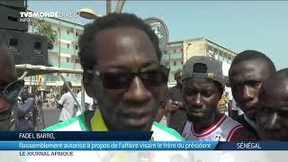 Sénégal : l'Affaire Aliou Sall gagne la rue