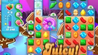 Candy Crush Soda Saga Level 659 - NO BOOSTERS